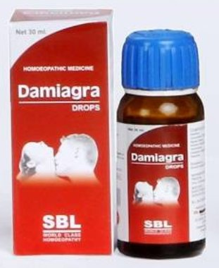 <B>DAMIAGRA - Erectil Dysfunction</B><br> 1 bottle of 30ml <br> SBL cie