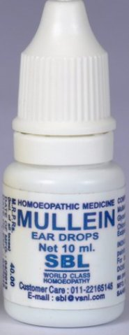 <b>MULLEIN - Ear drops</B> <br> 1 bottle of 10ml<br> SBL cie