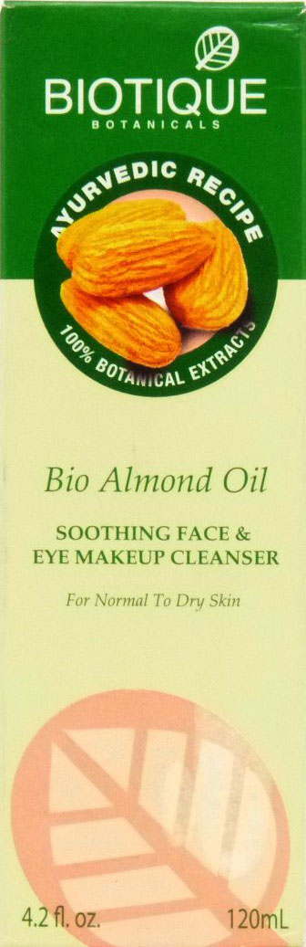 <b>FACE AND EYES CLEANSER OIL</b><br>BIO ALMOND OIL CLEANSER<br>120 ml