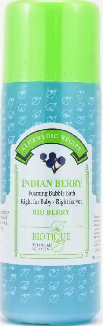 <b>FOAMING AND BUBBLE BATH</b><br>BIO BERRY - INDIAN BERRY<br>210 ml