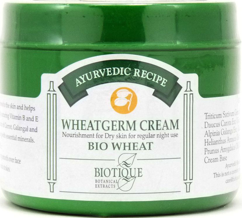 <b>NOURISHMENT FOR DRY SKIN CREAM</b><br>BIO WHEATGERM CREAM<br>175 grs