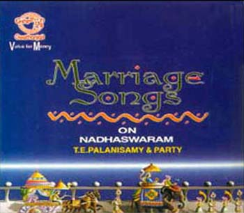 SA053<br><B>MARRIAGE SONGS<BR>T. E. PALANISWAMY & PARTY<B>