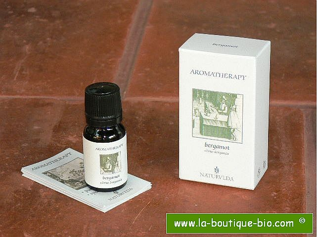 <b>EO - BERGAMOT</B><br>Citrus Bergamia<BR>NAT - 100% NATURAL<br>10 ml