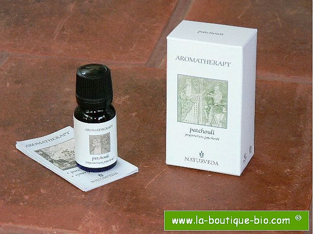 <b>EO - PATCHOULI</B><br>Pogostemon Patchouli<BR>NAT - ORGANIC CULTIVATION<br>10 ml