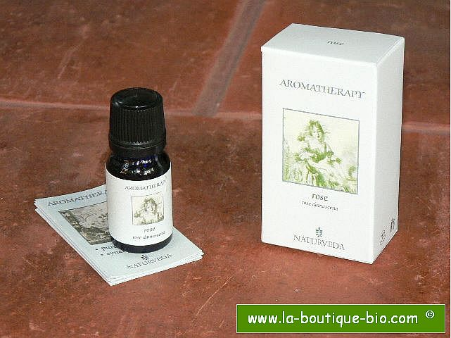 <B>HE - ROSE ABSOLUE</B><br>Rose Damascena<br>NAT - 100% NATUREL<br>10 ml PREDILUE