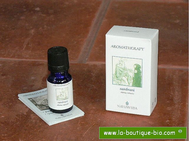 <b>EO - SAMBRANI RESINOID</B><br>Shorea Robusta<br>NAT - 100% NATURAL<br>10 ml
