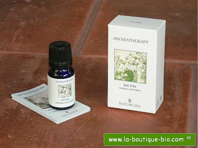 <B>HE - ARBRE A THE</B><br>Malaleuca Alternifolia<br>NAT - 100% NATUREL<br>10 ml