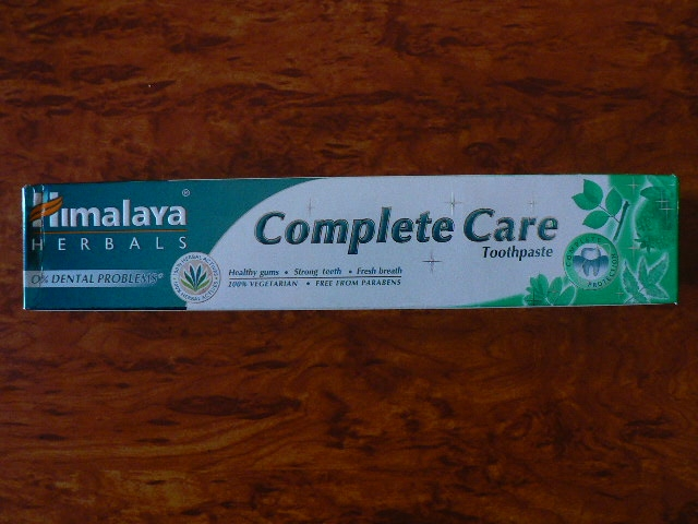 <b>HIMALAYA<br></B>DENTAL CREAM - COMPLETE CARE<BR>Complete care - Tube of 100 grs
