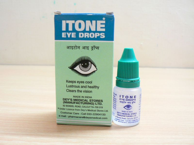 <b>ITONE</B><BR>Eyes Drops<BR>Botlle 10 ml