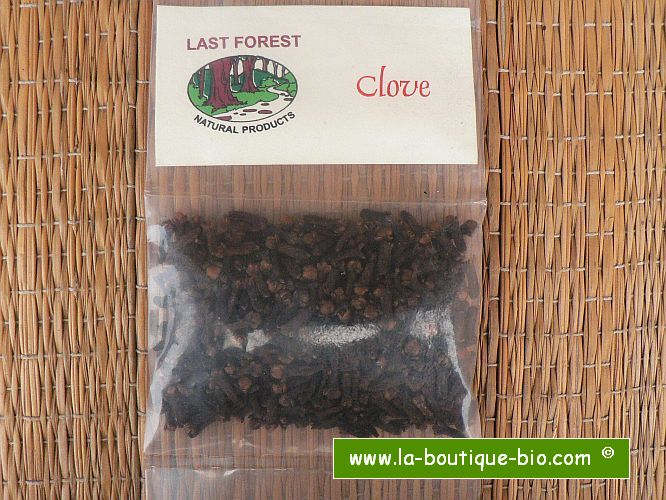 <b>CLOVES</b><br>KEY - Eugenia Caryophyllata<br>ORGANIC AND WILD - 25 grs