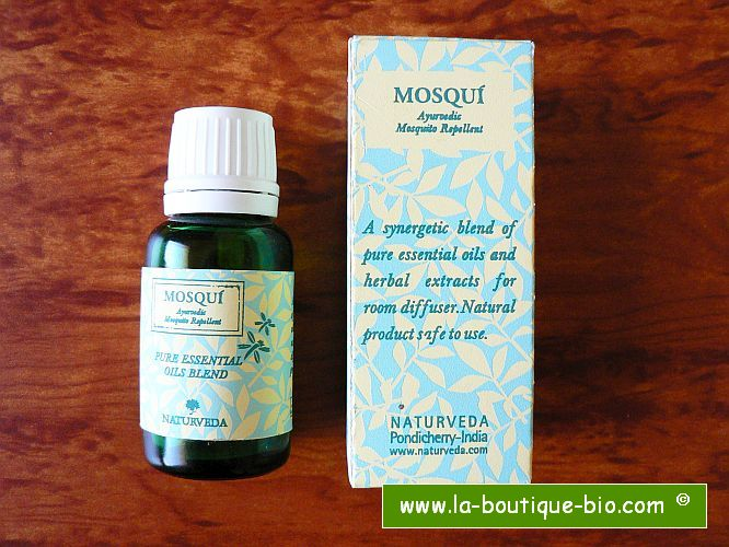 <B>MOSQUITO REPELLENT</B><BR>NAT - MOSQUI ESSENTIAL OIL<BR>Bottle of 15 ml