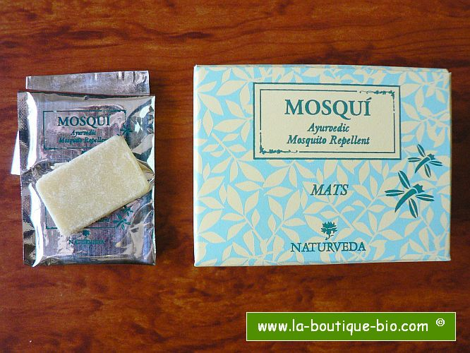 <B>ANTI-MOUSTIQUE</B><BR>NAT - MOSQUI FOR DIFFUSER<BR>18 PLAQUETTES