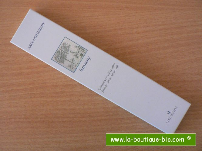 <b>HARMONY</b><br>NAT - AROMATHERAPIC INCENSE<BR>WITH ESSENTIAL OILS<br>12 sticks