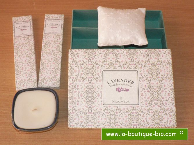 <B>GRAND COFFRET CADEAU - LAVANDE</B><BR>NAT - BIG GIFT BOX<BR>LAVENDER