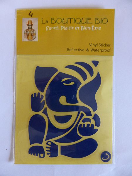 <b>STICKER PILLAYAR blue</B><BR>STICKER PILLAYAR blue - 4 <BR>
