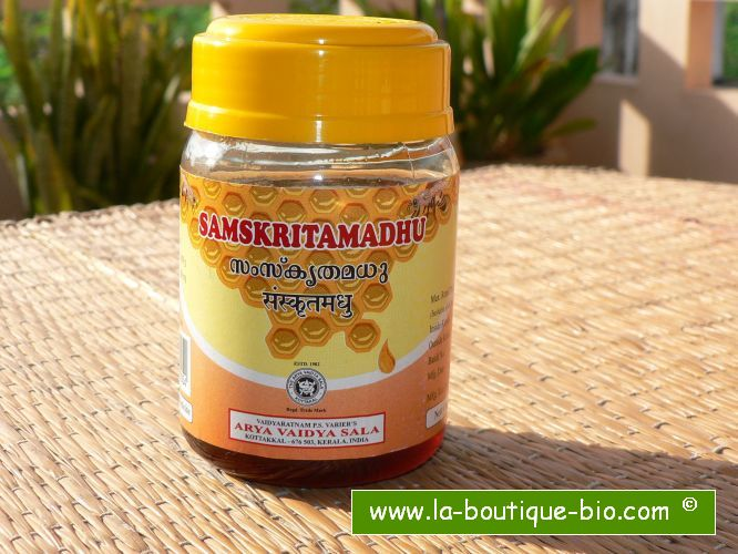 <B>WILD PURIFIED HONEY</B><BR>AVS - SAMSKRITAMADHU<BR>250 grs