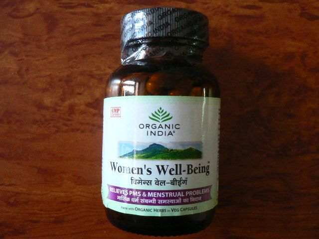 <b>WOMEN'S WELL-BEING</b><br>Asparagus racemosus + Tinospora cordifolia + Ocimum gratissimum + Symplocos racemosa<br>OI - WOMEN'S WELL-BEING ORGANIC CERTIFIED<br>60 veg. capsules x 325 mg
