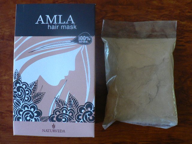 <b>MASQUE CAPILLAIRE A L\'AMALAKI</B><BR>AMLA HAIR MASK - NAT <BR>100 grs