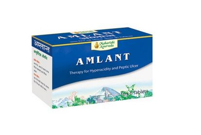 <b>MAHARISHI AMLANT TABLETS</B><BR>HYPERACIDITY<BR>AGA - 30 tablets x 1000 mg