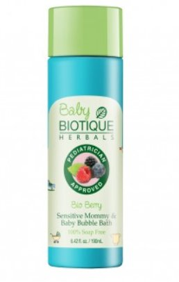 <b>FOAMING AND BUBBLE BATH</b><br>BIO BERRY - INDIAN BERRY<br>190 ml