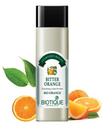 <b>LOTION NOURRISSANTE</b><br>BIO ORANGE - BITTER ORANGE<br>120 ml