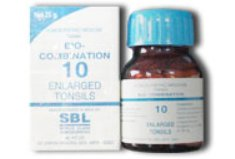 <b>10 - Bio Combination </B><br><b>ENLARGED TONSILS</B><br>net 25g - SBL