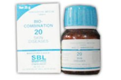 <b>20 - Bio Combination </B><br><b>SKIN DISEASES</B><br>net 25g - SBL