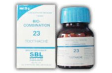 <b>23 - Bio Combination </B><br><b>TOOTHACHE</B><br>net 25g - SBL