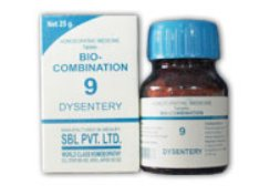 <b>09 - Bio Combination </B><br><b>DYSENTERY</B><br>net 25g - SBL