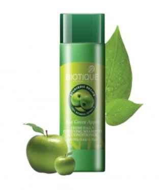 <b>CLEANSER FOR OILY HAIR</b><br>BIO GREEN APPLE<br>190 ml
