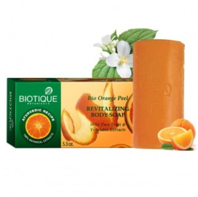 <b>SAVON - PEAU D'ORANGE</b><br>BIO - ORANGE PEEL SOAP<BR>6 x 150 grs