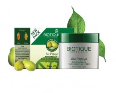 <b>EXFOLIATING CREAM</b><br>BIO PAPAYA CRUB<br>75 grs