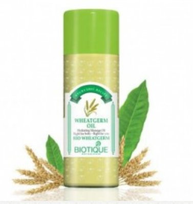 <b>HUILE DE MASSAGE HYDRATANTE</b><br>BIO WHEATGERM OIL<br>210 ml