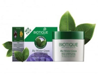 <b>ACNE AND PIMPLES</B><BR>BIO WINTERGREEN<BR>OIL OF WINTERGREEN CREAM <br>15 grs