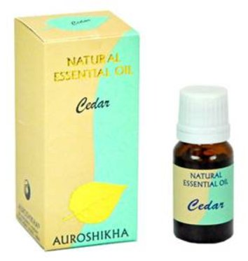 <B>HE - CEDARWOOD</B><br>Cedrus deodora<BR>AUROSHIKA - 100% NATURAL<br>10 ml