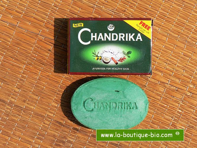 <b>SOAP - CHANDRIKA</b><br>CHANDRIKA SOAP - GREEN<BR>75 grs