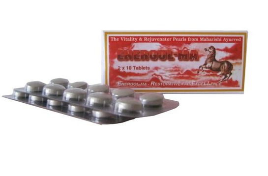 <b>MAHARISHI ENERGOL - MA</B><BR>AGA - 1 box of 2 x 10 tablets