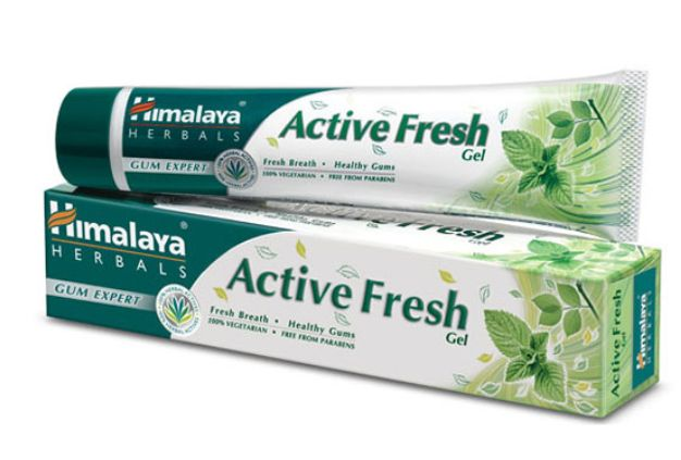 <b>HIMALAYA TOOTH PASTE - ACTIVE FRESH<br></B>Active Fresh - Tube of 80 grs