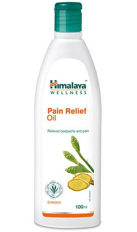 <b>PAIN RELIEVER</B><BR>HIM - PAIN MASSAGE OIL</b><br>Sweet Flag - Ginger<br>100 ml