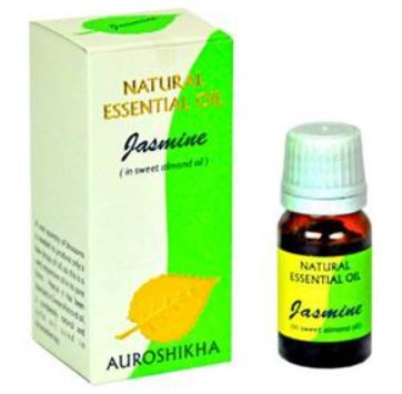 <B>HE - JASMINE blended with sweet almond</B><br>Jasminum grandiflora<BR>AUROSHIKA - 100% NATUREL<br>10 ml
