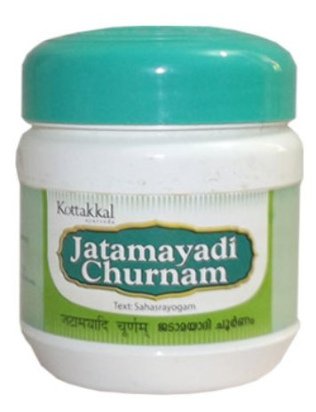 JATAMAYADI CHURNAM - 1 box powder of 100 grs - cie Arya Vaidya Sala