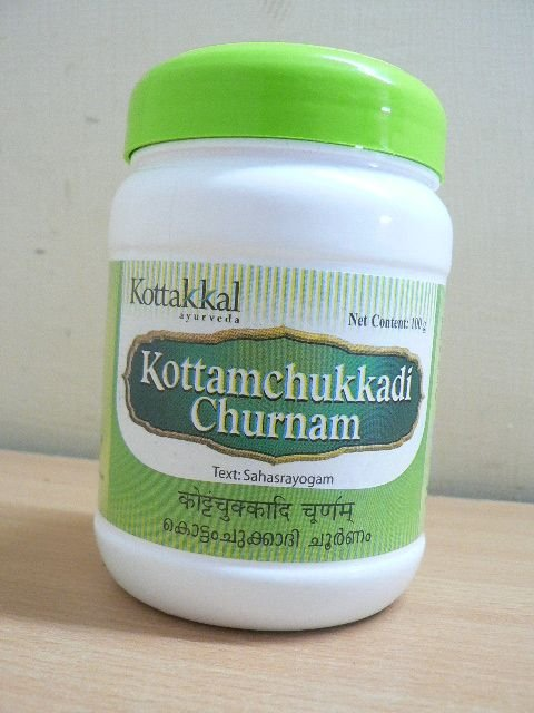 KOTTAMCHUKKADI CHURNAM - 1 POT OF 100GRS - AVS