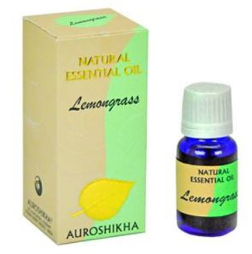 <B>HE - LEMONGRASS</B><br>Cymbopogon citratus<BR>AUROSHIKA - 100% NATURAL<br>10 ml