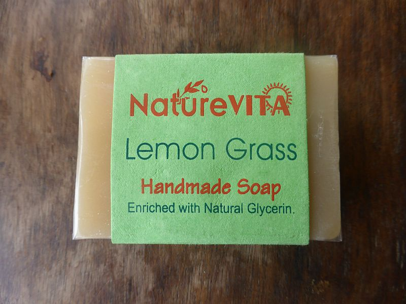 <b>SAVON - LEMONGRASS</b><br>NATUREVITA - LEMONGRASS SOAP<BR>75 grs