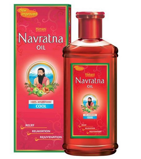 <B>REFRESHING AND COOLING OIL</B><BR>HIMANI NAVRATNA OIL<BR>100 ml