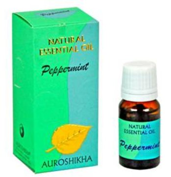 <B>HE - MENTHE POIVREE</B><br>Mentha piperita<BR>AUROSHIKA - 100% NATUREL - PEPPERMINT<br>10 ml