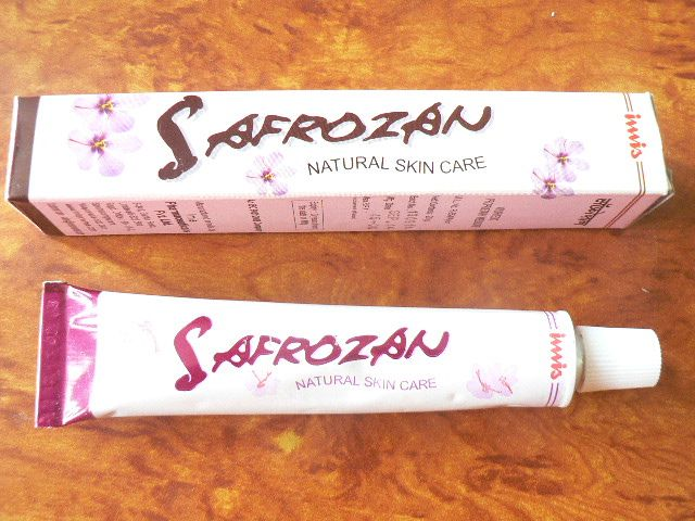 <b>SAFROZAN - NATURAL SKIN CARE </b><BR>Tube of 20grs <BR> IMIS cie
