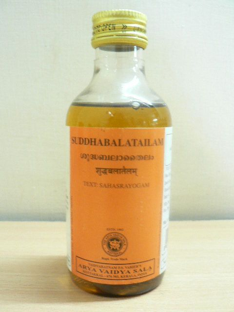 <B>SUDDHA BALA TAILAM</B><BR>AVS - 200 ml