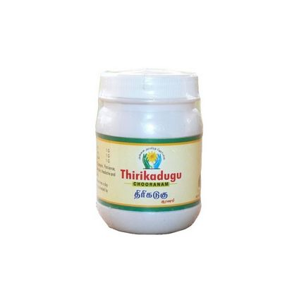<b>TRIKATU - POWDER</b><br>THIRIKADUGU<br>Piper nigrum + Piper Longum + Zingiber Officinalis<br>ARA - ORGANIC CULTIVATION<br>100 grs