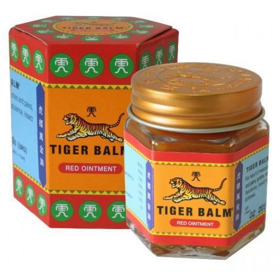 <b>PAIN BALM</B><BR>TIGER BALM - RED<br>18 grs